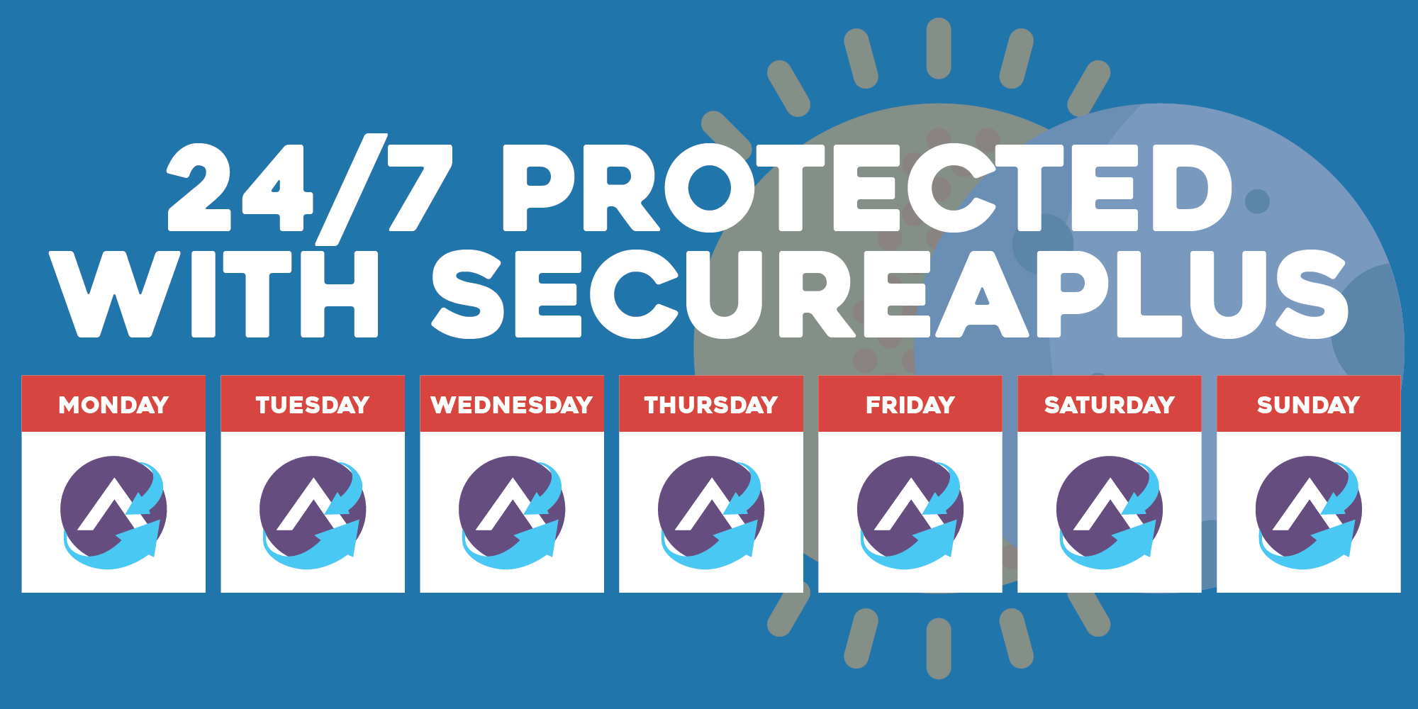 24/7 PC Protection against Virus & Malware with SecureAPlus