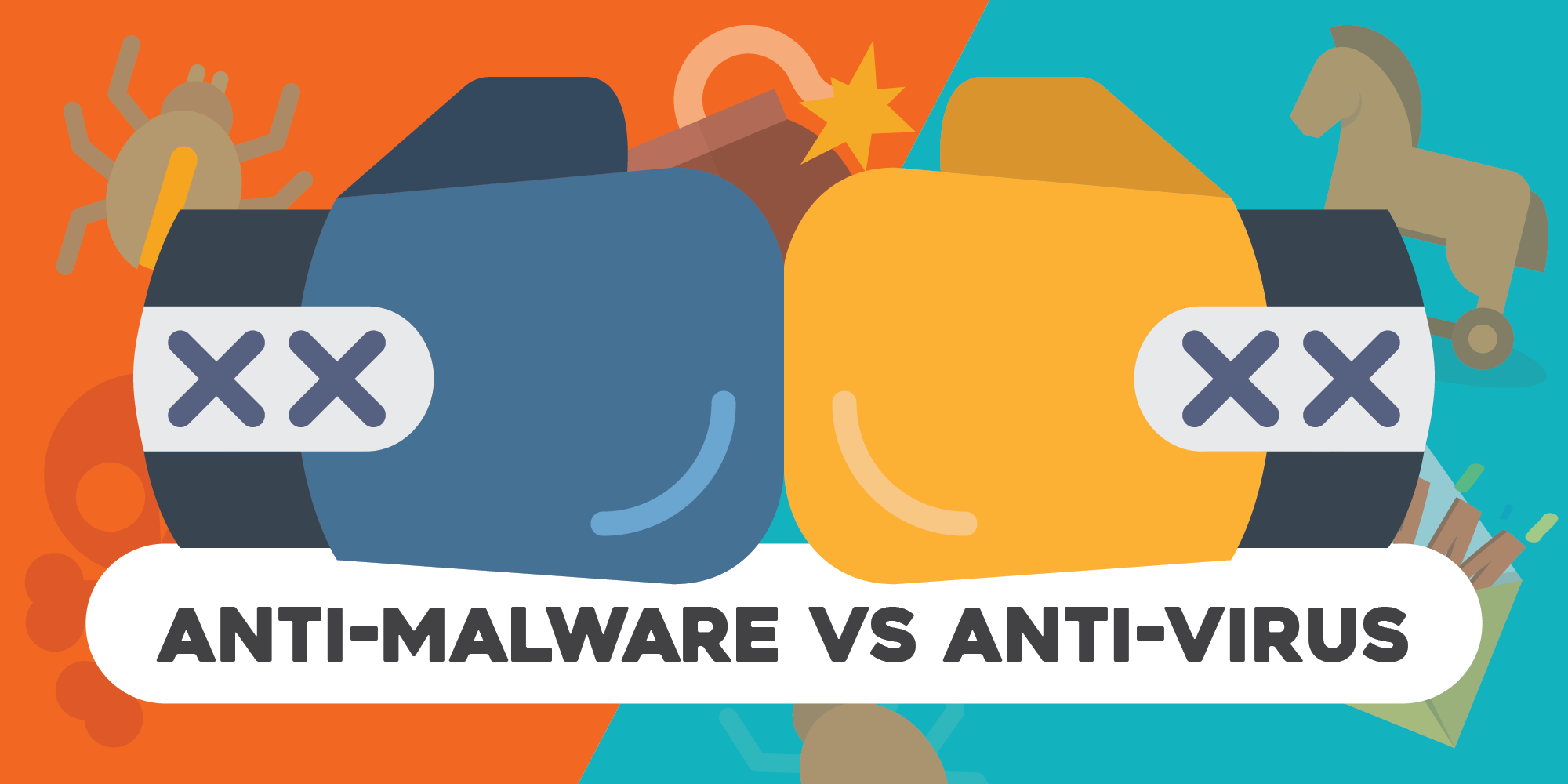 Difference between Anti-Malware & Antivirus