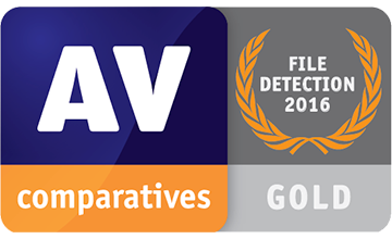 Avira File Detection AV Comparatives Result Gold