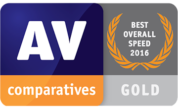 Avira Performance AV Comparatives Result Gold