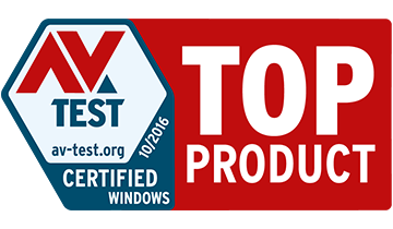 Avira 2016 Top Product AV Test