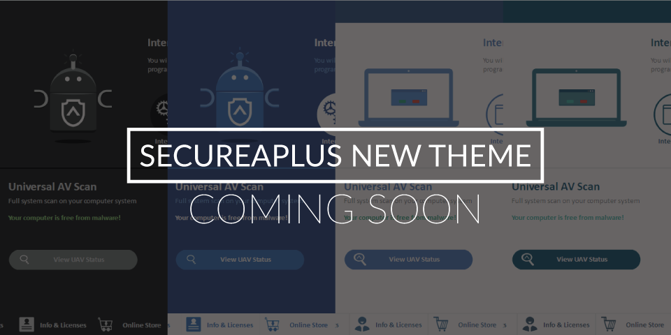 Halloween Antivirus and More SecureAplus Themes